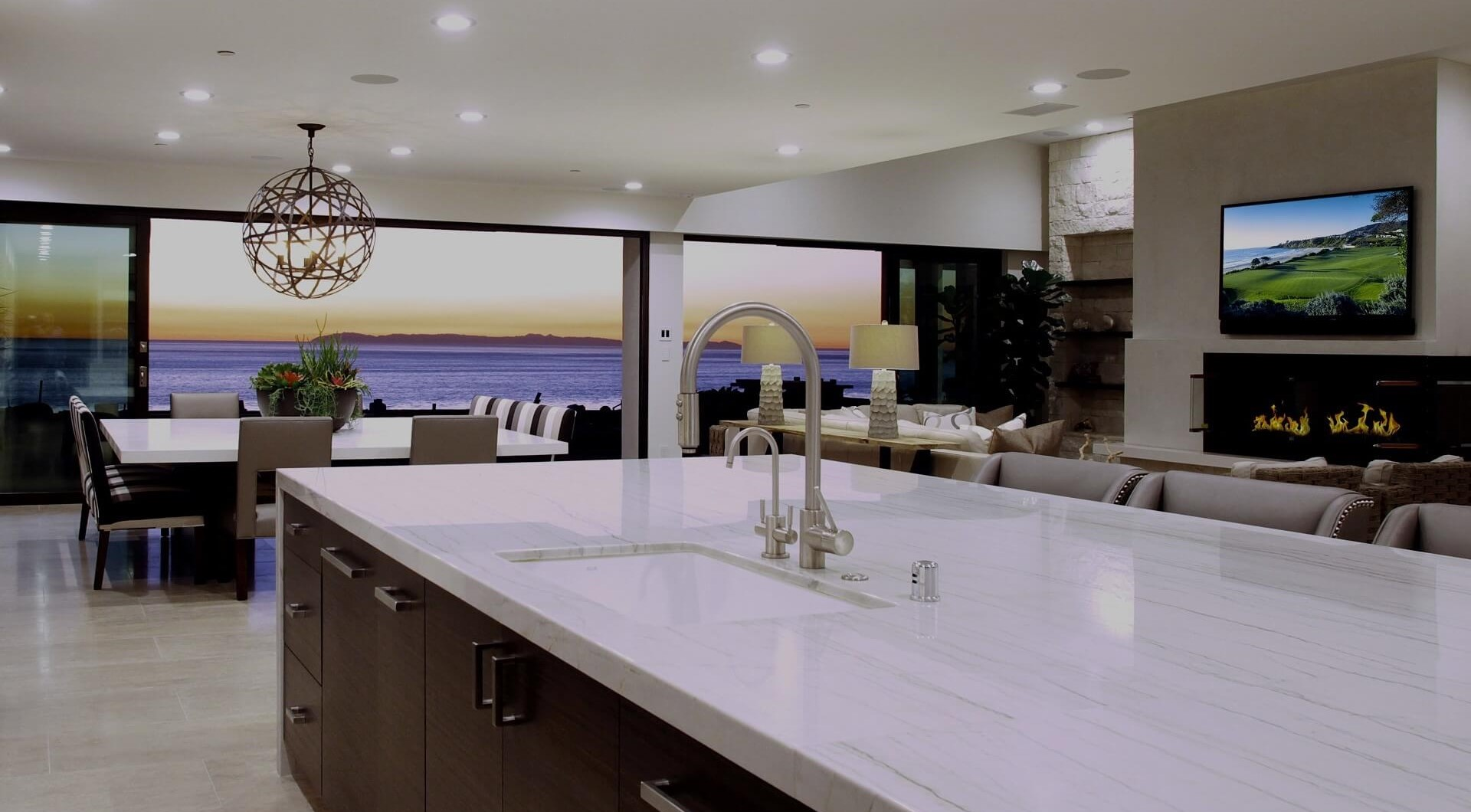 Southern California Luxury Kitchen